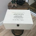Personalised AUNTIE Aunt Aunt Box ANY NAME Special VERY LARGE Keepsake Box Gift - 233400719410